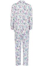 Floral Jersey Revere Collar Pyjamas