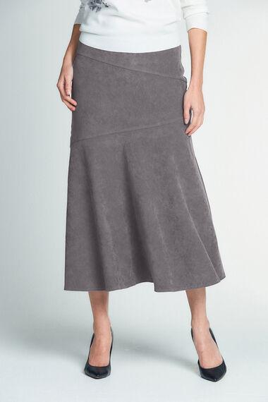 Moleskin A Line Skirt