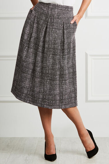 Monochrome Tulip Skirt