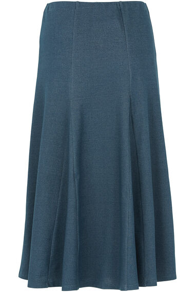 Denim Jersey Skirt