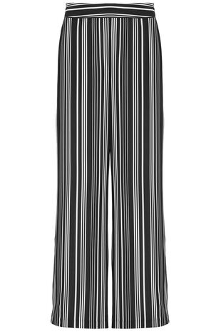 Soft Crepe Wide Leg Trouser