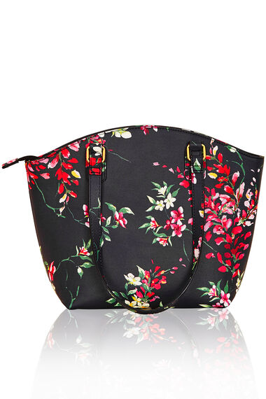 Garden Printed Shoulder Bag