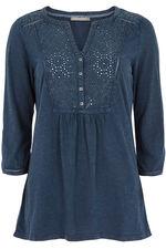 Ann Harvey Denim Look Jersey Shirt