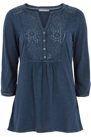 Ann Harvey Denim Look Jersey Shirt