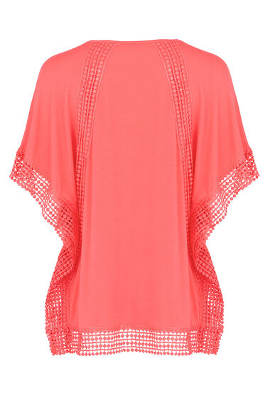 Ann Harvey Longline Lace Trim Top