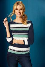 Textured Stripe Jumper