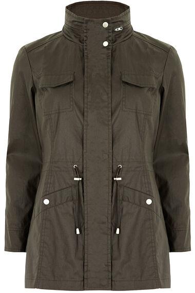 Wax Like Utility Jacket