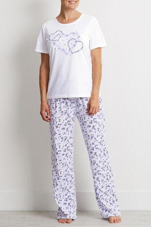 Floral Wide Leg Pyjama Pant - Mix & Match