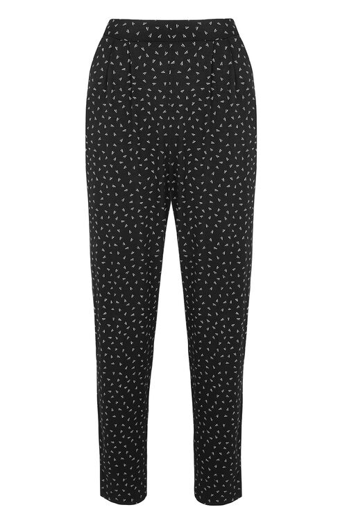 Brushed Geo Printed Lounge Pants