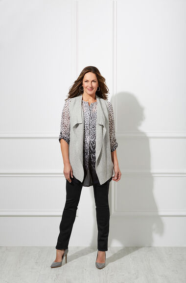 David Emanuel Soft Grey Waistcoat