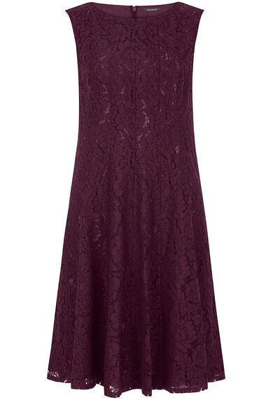 Ann Harvey Lace Panel Dress