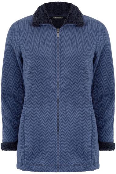 Printed Fleece Jacket