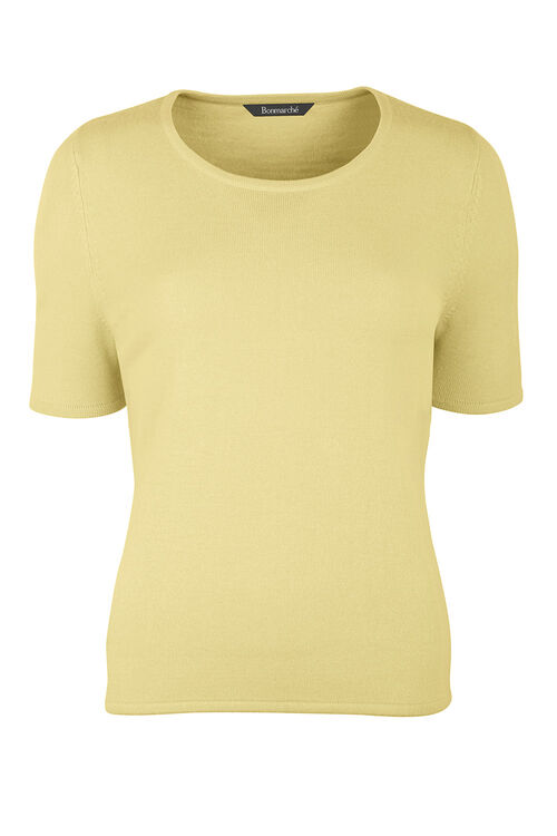Super Soft Short Sleeved Jumper