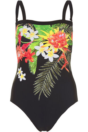 Tropical Print Multiway Swimsuit