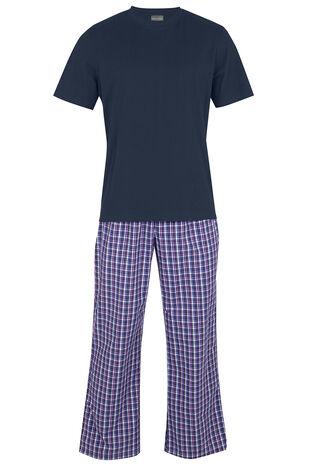 Check Pyjama Loungewear Set
