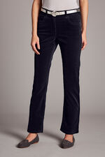 Corduroy Slim Leg Trousers