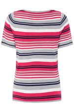 Supersoft Short Sleeve Stripe Jumper
