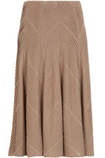 Textured A line Skirt