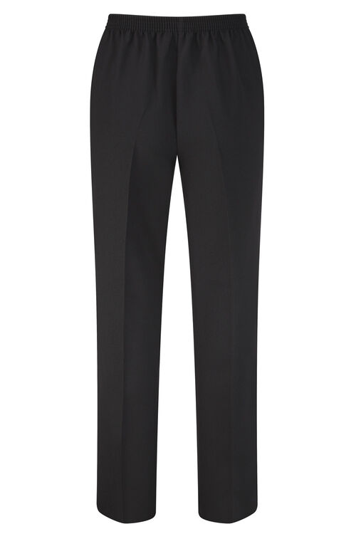 Stitch Detail Classic Leg Trousers