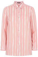 Stripe Printed Long Sleeve Shirt