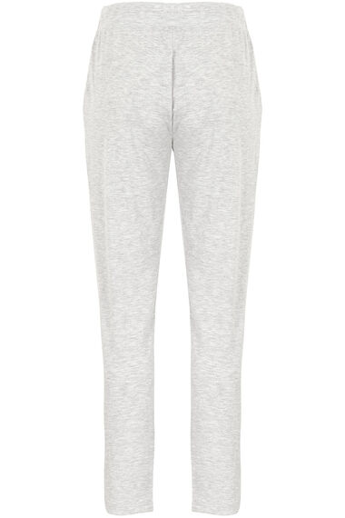 Grey Marl Tapered Pyjama Pant