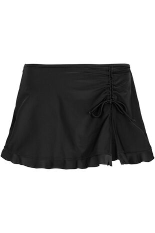 Ruched Swim Skirt