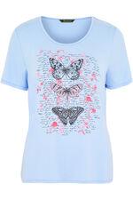 Butterfly Print T-Shirt