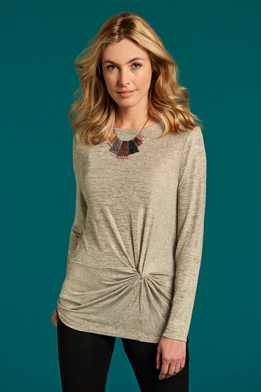 Knot Detail Front Top