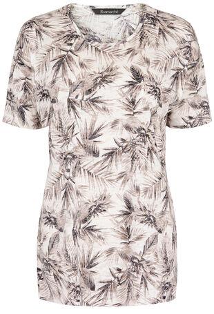 Pineapple Palm Print T-Shirt