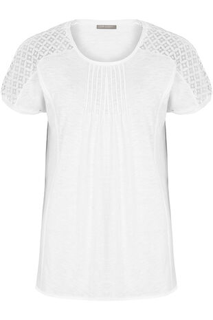 Ann Harvey Lace Trim Top