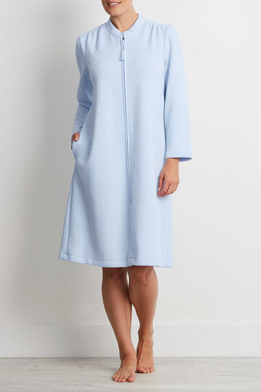 Blue Zip Robe
