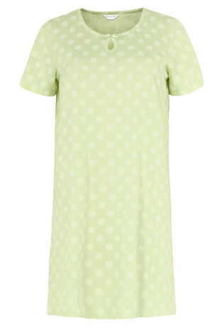Spot Floral Nightdress
