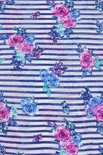Cluster Floral & Stripe