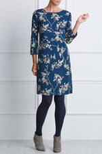 Bird Print Tunic Dress