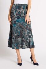 Printed Flock Skirt