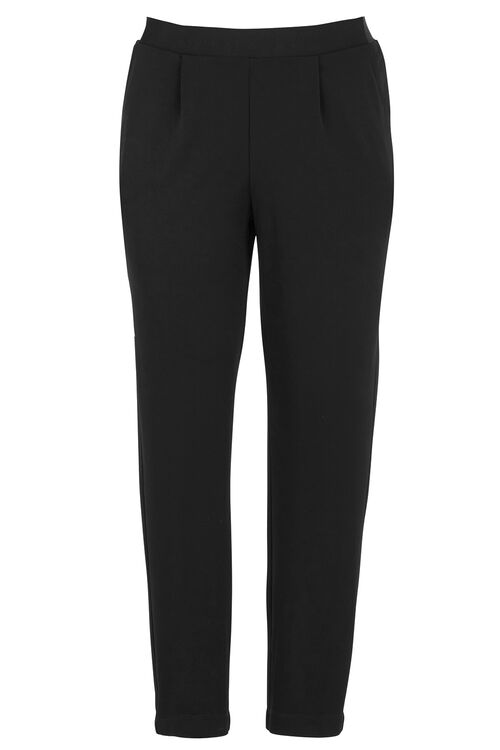 Ann Harvey Heavy Jersey Crepe Tapered Leg Trousers