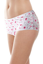 5 Pack Pansy Floral & Geo Print Briefs