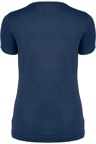 Basic Cotton Square Neck T-Shirt