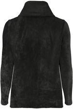 Velour Funnel Neck Sweater
