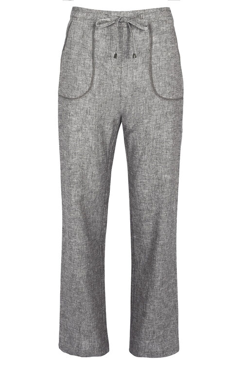 Linen Cross Dye Trousers