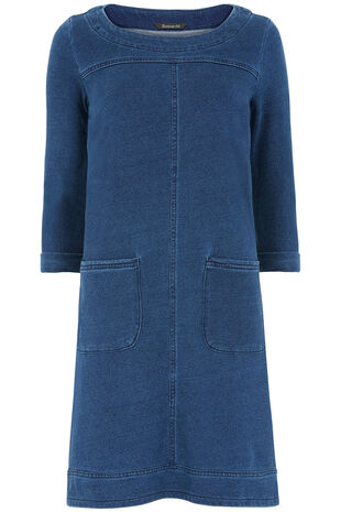Denim Mid Wash Tunic