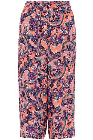 Paisley Printed Culottes