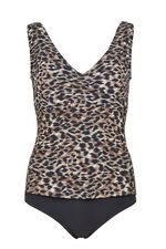 Animal Mock Tankini Swimsuit