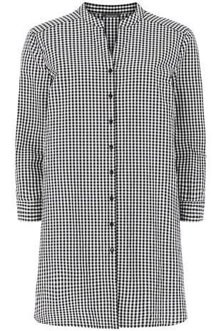 Pure Cotton Lightweight Gingham Shirt