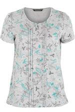 Autumnal Floral Print T-Shirt