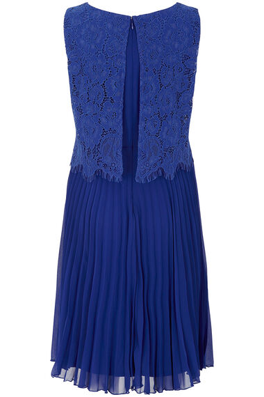 Lace Double Layer Pleated Dress
