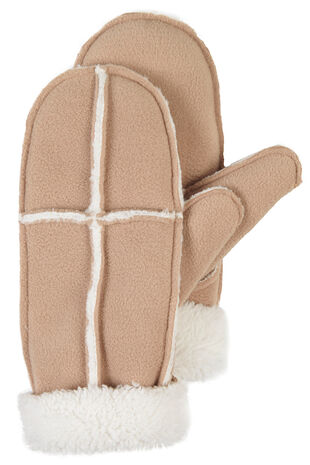 Fleece Shearling Mitten