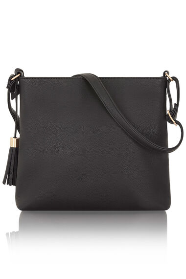 Cross Body Bag with Tassel