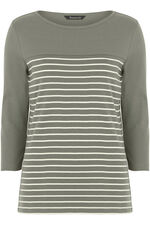 Cotton Stripe T-Shirt
