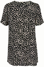 Ann Harvey Crushed Print Tunic Dress
